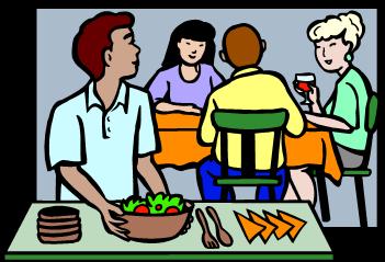potluck dinners