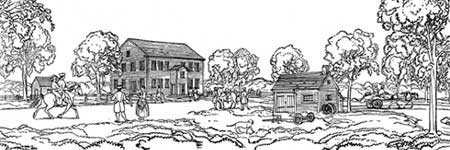 Historical sketch of the community center
