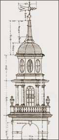 drawing of the steeple