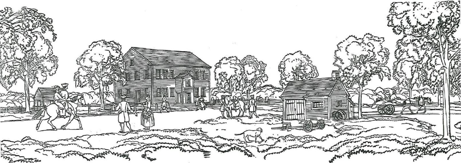 First Parish building in 1770