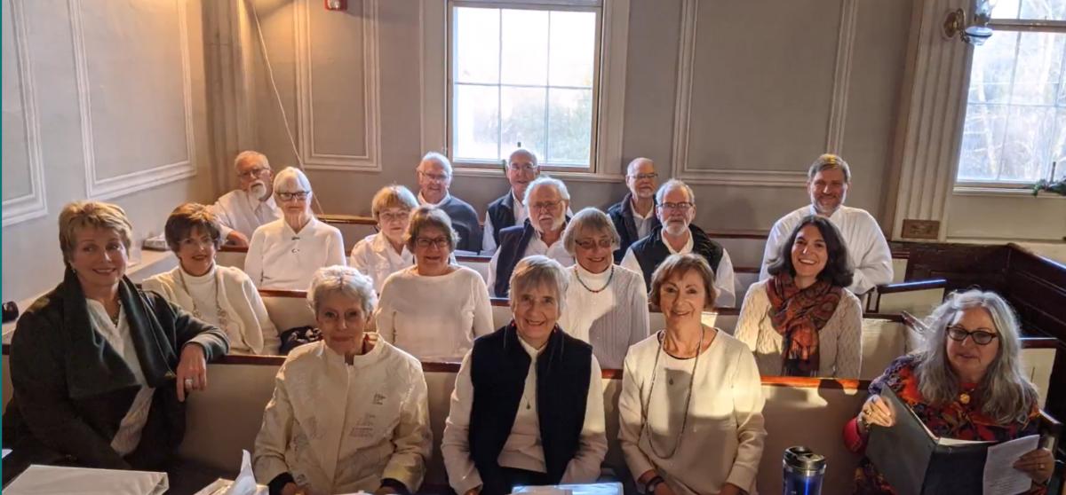 choir in november of 2019