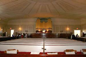 Refurbished organ year 2000