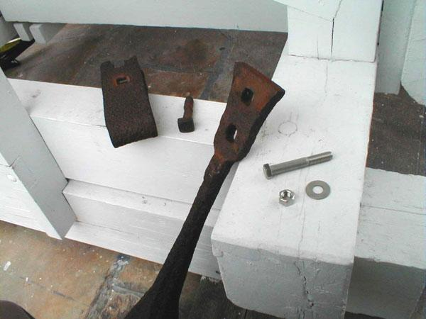 Toll clapper and parts